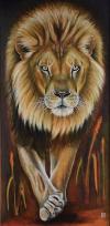 Lev jdoucí