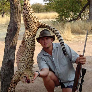 trophy hunting gepard